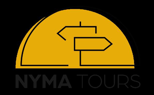 Het logo van nymatours